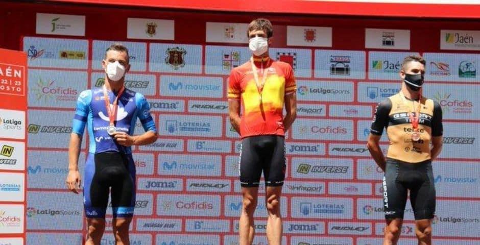 Ander Okamika, Campeón de España de Ciclismo Contrarreloj Elite ...