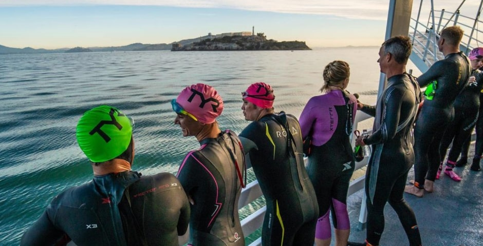 En el 'Escape from Alcatraz' se sale desde un barco